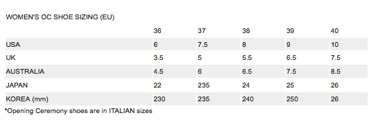 Nael Coce Stussy Clothing Size Guide