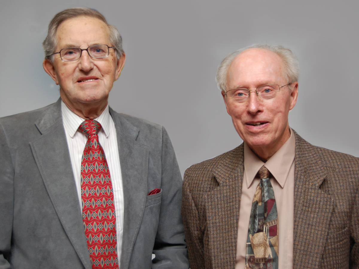 Don Steeves and John Rozema