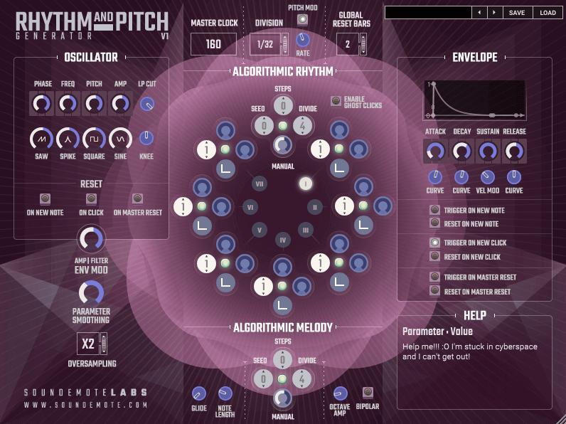 Rhythm And Pitch Generator