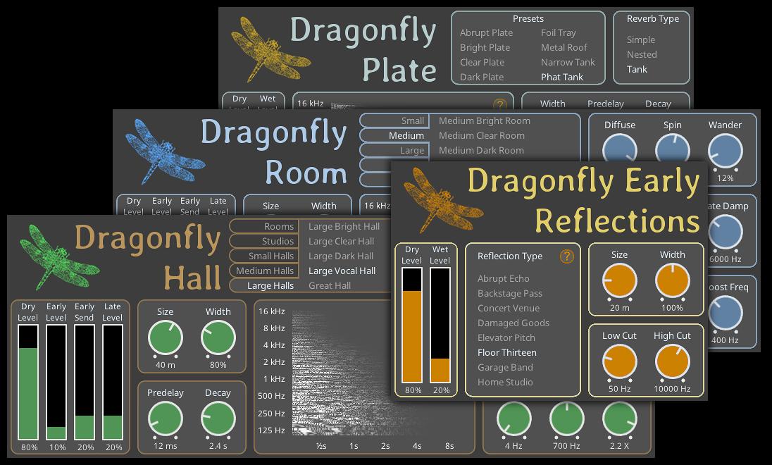 Dragonfly Reverb Bundle V3