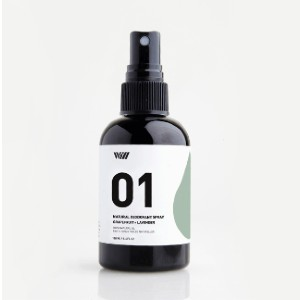 Way Of Will 01 NATURAL DEODORANT SPRAY - Best Deodorant for Men: Quick-Drying Formula that Leaves No Residue