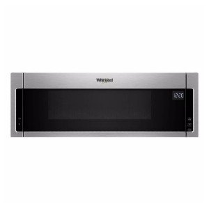 Whirlpool 1.1 cu. ft. Over the Range Microwave Hood Combination - Best Microwave with Vent: Works like a wonder