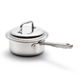 360 Cookware 1.75 Quart Saucepan  - Best Saucepan Stainless Steel: Retains the Natural Flavors and Nutrients