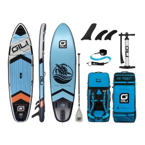 GILI 10'6 KOMODO Inflatable Stand Up Paddle Board - Best Paddleboard for Yoga: Provides an unforgettable experience