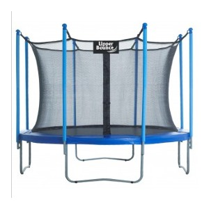 Upper Bounce 10ft Round Trampoline with Enclosure System - Best Trampoline Under $300: Great for medium-sized backyards
