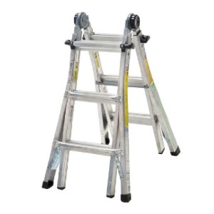 Cosco 14 ft. Reach Aluminum - Best Ladders for Stairs: No Assembly or Additional Pieces Required
