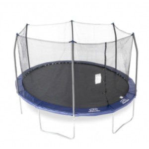 Skywalker Trampolines 15ft x 13ft Oval Trampoline with Enclosure System - Best Trampoline for Kids and Adults: Longer jumping surface