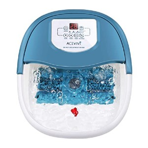 ACEVIVI Foot Spa  - Best Foot Spa with Automatic Rollers:  Quickly heat up