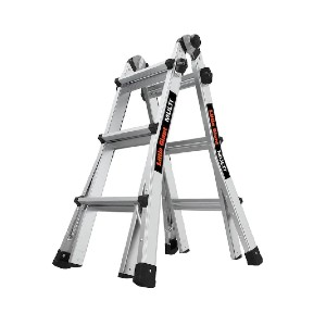 Little Giant Multi Aluminum - 16513-002 - Best Ladders for Stairs: Made from Lightweight Aluminum
