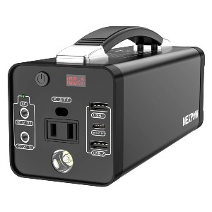 NEXPOW 178Wh Portable Power Station - Best Powerstation for iPhone: Best lightweight pick