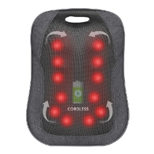 Comfier 1902C - Best Back Massager with Heat: Portable Massages Anywhere