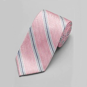 Jos A Bank 1905 Collection Stitch Stripe Tie - Best Ties for Striped Shirts: Fresh, crisp color