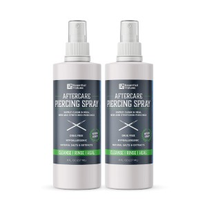 Essential Values Piercing Aftercare Spray - Best Cleaning Solution for Piercings: Best Value on Amazon
