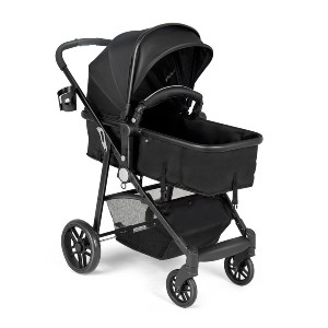 COSTWAY 2-in-1 - Best Strollers for Newborns: Adjustable Back Rest and Handle