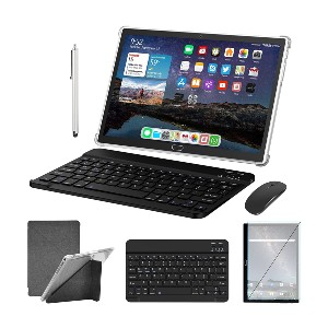 MEIZE 2 in 1 Tablet - Best Tablets with Cellular: Complete package