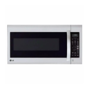 LG 2.0 cu. ft. Over the Range Microwave - Best Microwave with Vent: Cleaning is a breeze