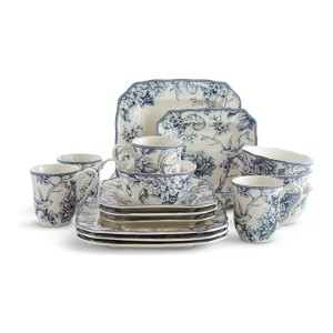 222 Fifth Adelaide  - Best Porcelain Plates:  Beautiful spring scene