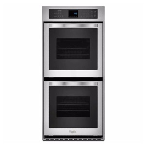 Whirlpool 24 in. Double Electric Wall Oven Self-Cleaning - Best Double Wall Oven Electric: Great for baking
