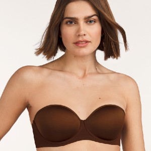 Thirdlove 24/7™ Classic Strapless Bra - Best Bra for Off The Shoulder Dress: No more itchy or scratchy feeling