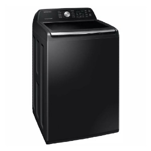 Samsung 27 in. 4.5 cu. ft. High Efficiency Washing Machine - Best Washing Machine for Pet Hair: Built-in water faucet