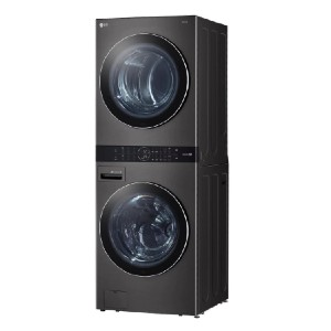 LG 27 in. Black Steel WashTower Laundry Center  - Best Vented Dryers: Best washer and dryer combo