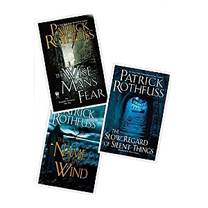 Patrick Rothfuss 3 Book Set of The Kingkiller Chronicle Series - Best Fantasy Book Series of All Time: Story in reflection