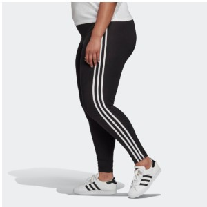 ADIDAS 3-STRIPES TIGHTS (PLUS SIZE) - Best Leggings for Plus Size: Slim Cut for a Streamlined Fit