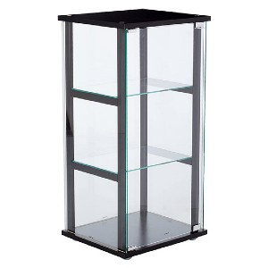 Coaster Home Furnishings 3 Shelf Glass Curio Cabinet - Best Funko Pop Shelves: Modern look cabinet