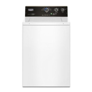 Maytag 3.5 cu. ft. Commercial-Grade Residential Agitator Washer - Best Washers for Cloth Diapers: Commercial-grade washer