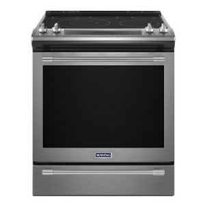 Maytag 30-Inch Wide Slide-In Electric Range - Best Ranges for Home Chefs: Cooks faster and more evenly