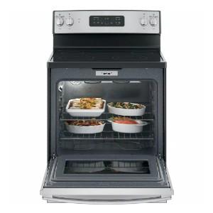 GE 30 in. 5.3 cu. ft. Electric Range with Self-Cleaning Oven - Best Electric Ranges Under 1000: Boil water 25% faster