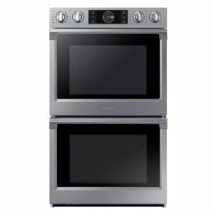 Samsung 30 in. Double Electric Wall Oven  - Best Double Wall Oven Electric: Two ovens or one, you choose
