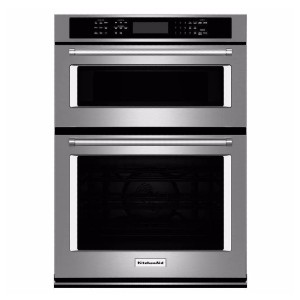 KitchenAid 30 in. Electric Even-Heat True Convection Wall Oven  - Best Wall Oven with Microwave: Accurate temperatures measurement