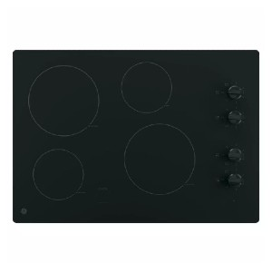 GE 30 in. Radiant Electric Cooktop - Best Glass Cooktops: Keeps your food warm