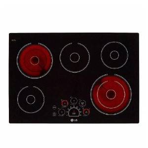 LG 30 in. Radiant Smooth Surface Electric Cooktop - Best Glass Cooktops: Excellent style and convenience