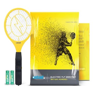 Ostad Electric Fly Swatter - Best Bug Zapper for Wasps: Extremely simple