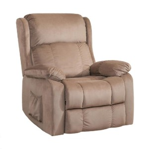 Merax 33 in Power Lift Recliner - Best Recliners for Sleeping: Easy-to-Use 2 Button Control and Convenient Side Pocket