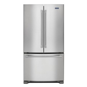 Maytag 36-Inch Wide Counter Depth French Door Refrigerator - Best Refrigerator with Ice Maker: Fingerprint-resistant