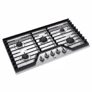 Whirlpool 36 in. Gas Cooktop in Stainless Steel  - Best Professional Cooktops: No more overcooked or burnt food
