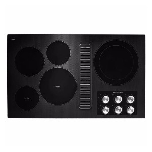 KitchenAid 36 in. Radiant Electric Cooktop - Best Cooktops with Downdraft: Five powerful burners