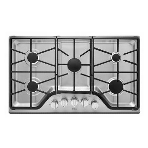 Maytag 36-inch Wide Gas Cooktop  - Best 5 Burner Gas Cooktops: 10-year warranty