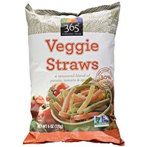 365 Everyday Value Veggie Straws - Best Healthy Snack: Potato chips in healthy version