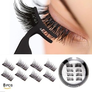 Vassoul 3D Reusable Dual Magnetic Lashes - Best Lashes for Beginners: Natural and Beautiful