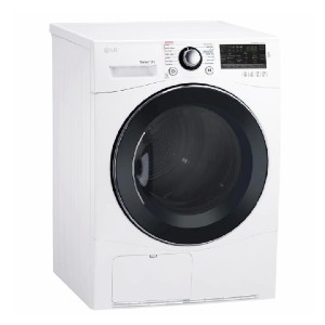LG 4.2 cu. ft. Compact Stackable Electric Ventless Dryer  - Best Compact Dryers: Just set and go