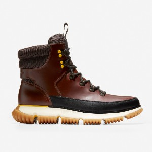 Cole Haan 4.ZERØGRAND Hiker Boot - Best Boots with Jeans: Responsive Cushioning