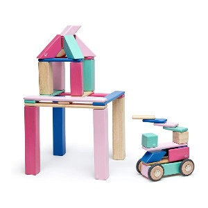 Tegu 42 Piece Magnetic Wooden Block Set - Best Educational Toys for 1-2 Year Olds: Recommended by experts