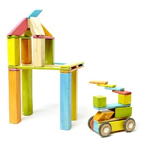 Tegu 42 Piece Magnetic Wooden Block Set - Best Wooden Stacking Toys: Recommended by experts