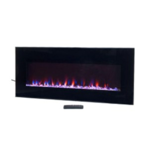 Northwest 42 in. LED Fire and Ice Electric Fireplace  - Best Electric Fireplace for Basement: Unmatched sleek look