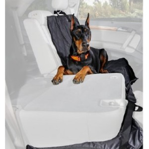 4Knines Products Quilted Velvet Waterproof Co-Pilot Bucket Car Seat Cover - Best Dog Car Front Seat Covers: Seat Cover with Premium Velvet-Feel Velour Fabric