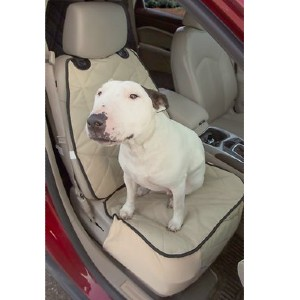 4Knines Rear Fitted Split Seat Cover - Best Dog Car Front Seat Covers: Seat Cover with Cushiony Cotton Padding